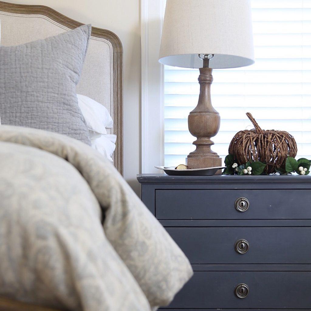 Fall Master Bedroom Tour - Cape Cod Farmhouse - Cambridge Home Company