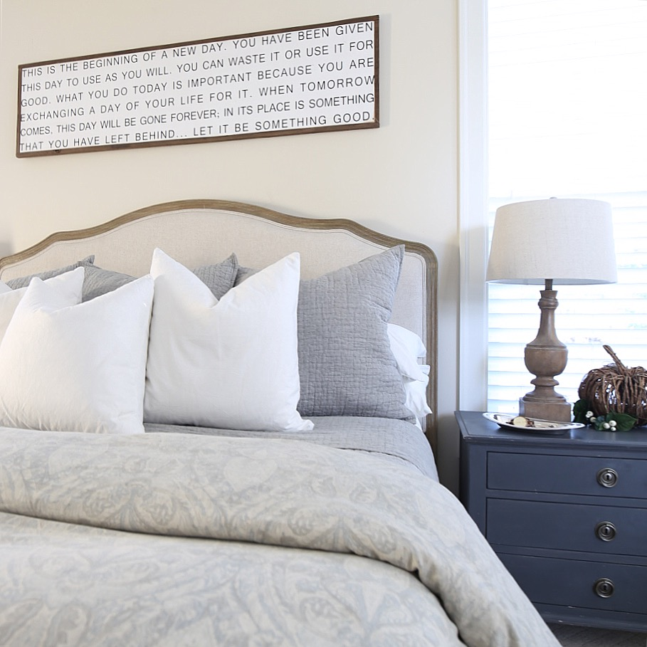 Fall Master Bedroom Tour Cape Cod Farmhouse Cambridge