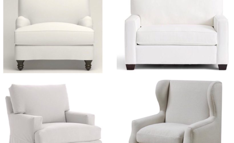Oversized sofas for everyday seating