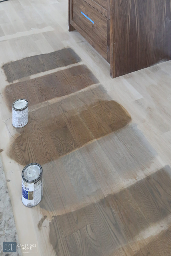 Wood Floor Stain Color Swatches